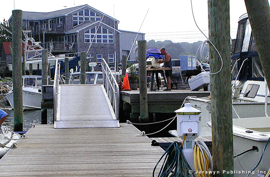 Noank Village Boatyard, Mystic Harbor, Noank, CT Thumbnail