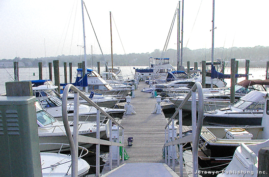 Brewer Yacht Yard at Mystic, Mystic River, Mystic, CT Thumbnail