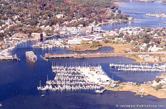 Brewer Yacht Yard at Mystic, Mystic River, Mystic, CT Photo
