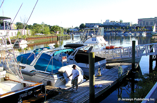 Ebb Tide Marina, Byram River, Port Chester, NY Thumbnail