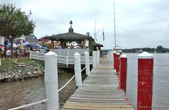 Schaefer's Canal House and Marina, C & D Canal, Chesapeake City, MD Thumbnail