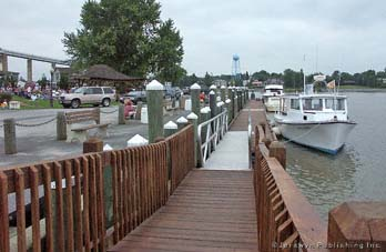 Chesapeake City Floating Docks, Back Creek Basin/Hole in the Wall, Chesapeake City, MD Thumbnail